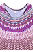 Prana Boost Printed Top Women Violet Sol